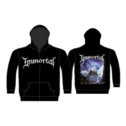 Immortal - At the Heart of Winter - Hooded Sweat Shirt Zip (Homme)