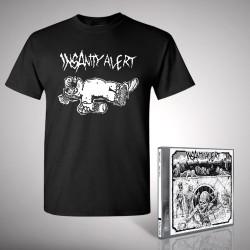 Insanity Alert - Bundle 1 - CD + T-shirt bundle (Homme)