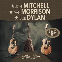 Joni Mitchell - Van Morrison - Bob Dylan - Live Box - 3CD DIGIPAK