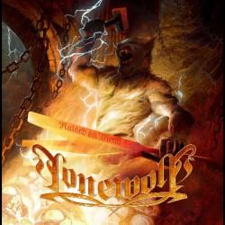 Lonewolf - Raised On Metal - LP COLOURED