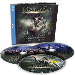 Luca Turilli's Rhapsody - Prometheus - The Dolby Atmos Experience - 2CD + BLU-RAY