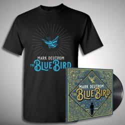 Mark Deutrom - The Blue Bird - LP gatefold + T-shirt bundle (Homme)