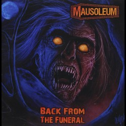 Mausoleum - Back From The Funeral - LP COLOURED