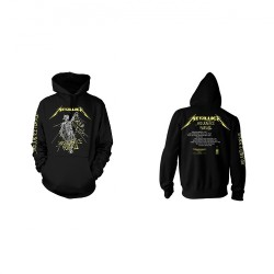 Metallica - And Justice For All Tracks - HOODED SWEAT SHIRT (Homme)