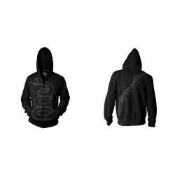 Metallica - Black Album Burnished - Hooded Sweat Shirt Zip (Homme)