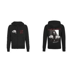 Metallica - Cliff Burton Riffs - Hooded Sweat Shirt Zip (Homme)