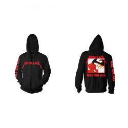 Metallica - Kill 'Em All - Hooded Sweat Shirt Zip (Homme)