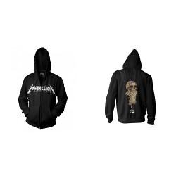 Metallica - One - Hooded Sweat Shirt Zip (Homme)