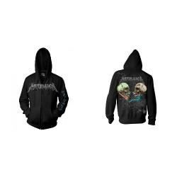 Metallica - Sad But True - Hooded Sweat Shirt Zip (Homme)