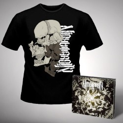 Nightmarer - Cacophony Of Terror - CD DIGIPAK + T-shirt bundle (Homme)