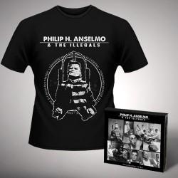 Philip H. Anselmo & The Illegals - Bundle 1 - CD DIGIPAK + T-shirt bundle (Homme)