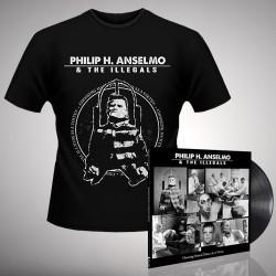 Philip H. Anselmo & The Illegals - Bundle 2 - LP gatefold + T-shirt bundle (Homme)