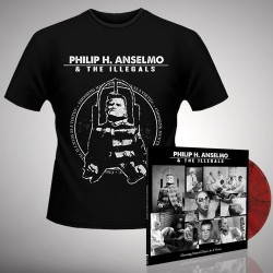 Philip H. Anselmo & The Illegals - Bundle 3 - LP gatefold coloured + T-shirt bundle (Homme)