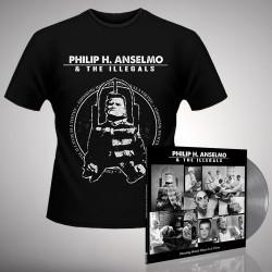 Philip H. Anselmo & The Illegals - Bundle 5 - LP gatefold coloured + T-shirt bundle (Homme)