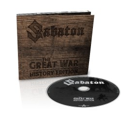 Sabaton - The Great War - CD DIGIPAK