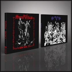 Saint Vitus - Live Vol. 2 + Marbles In The Moshpit - CD DIGIPAK + CD DIGISLEEVE + Digital