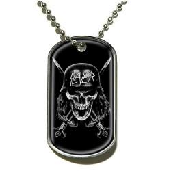 Slayer - Wehrmacht Skull - Dog Tag