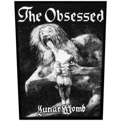 The Obsessed - Lunar Womb - BACKPATCH