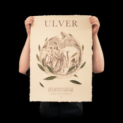 Ulver - Bay Leaves - Serigraphy