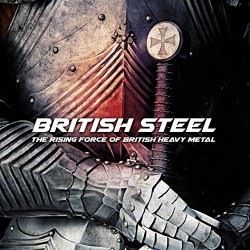 Various Artists - British Steel - The Rising Force Of British Heavy Metal - LP Gatefold