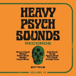 Various Artists - Heavy Psych Sounds Sampler Vol.IV - CD DIGIFILE