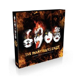 Various Artists - The Many Faces Of Kiss - 3CD DIGIPAK
