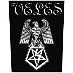 Veles - Black Hateful Metal - BACKPATCH