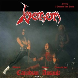 Venom - Canadian Assault - LP COLOURED