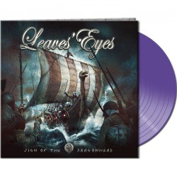 Leaves' Eyes - Sign Of The Dragonhead - LP Gatefold Coloured
