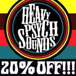 20% DISCOUNT ON THE HEAVY PSYCH SOUNDS CATALOGUE!