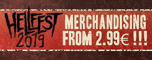 Hellfest special offers on merch!