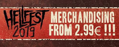 Offre spéciale Hellfest sur le merch!