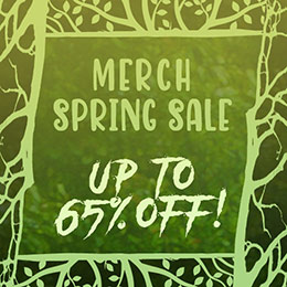 Metal merch on sale!