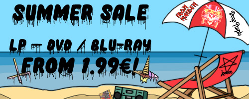 Summer sale on metal LPs, DVDs, and Blu-ray discs!