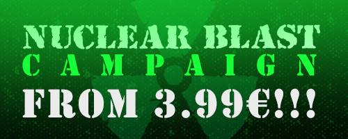Nuclear Blast releases from 3.99€!