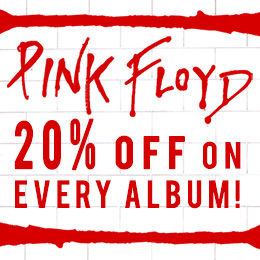 20% off on every Pink Floyd remastered album!