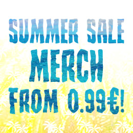 Cool discounts on hundreds of merch items!