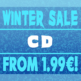 Winter sale on metal CDs!