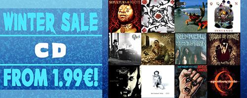 CD metal en solde !