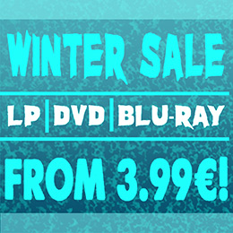 Winter sale on metal vinyl, DVD and Blu-ray!