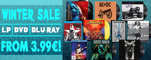 Vinyles et vidéos metal en solde !