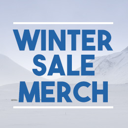 Winter sale on merchandising!