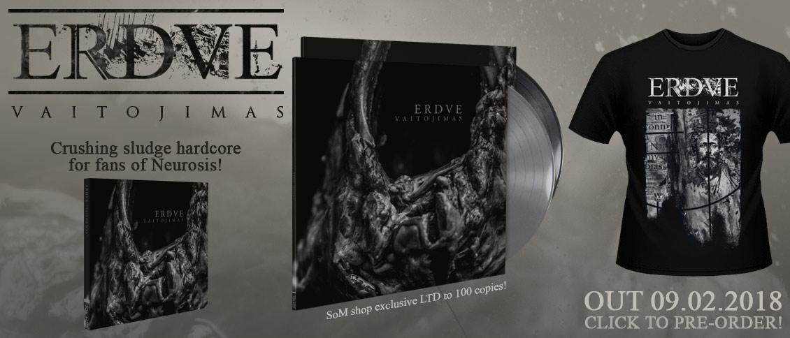 Erdve new album Vaitojimas pre-order