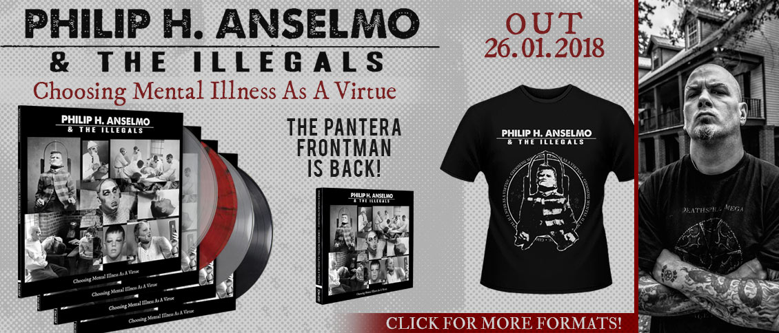 Phil Anselmo new album pre-order