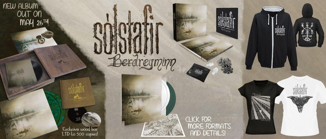 Solstafir new album Berdreyminn pre-order pre-sale