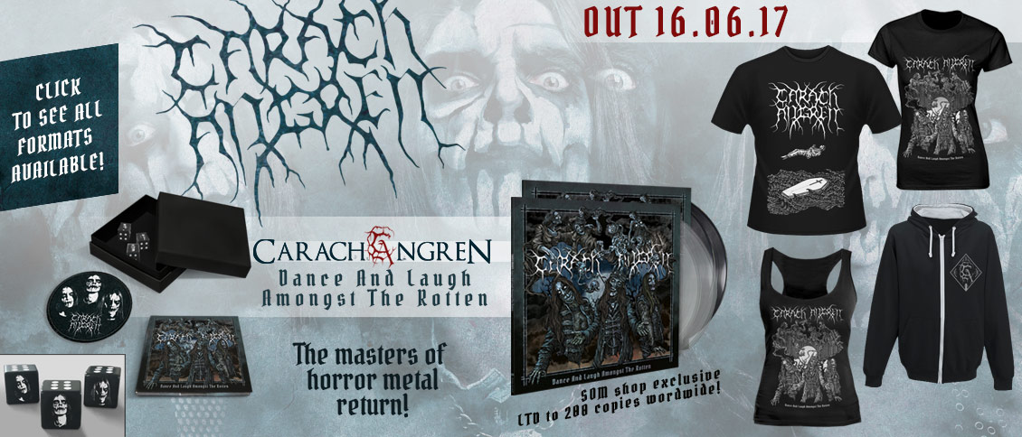 Carach Angren new album Dance And Laugh Amongst The Rotten pre-order pre-sales