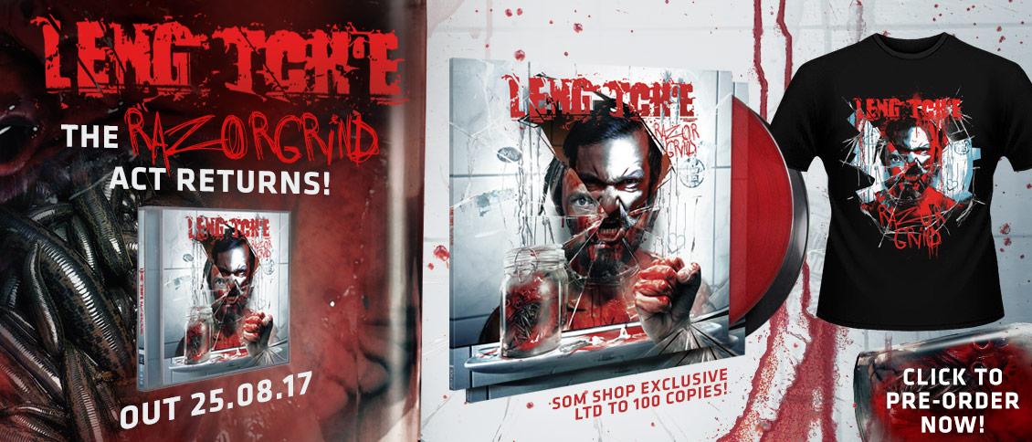 Leng Tch'e Razorgrind new album pre-sale pre-order