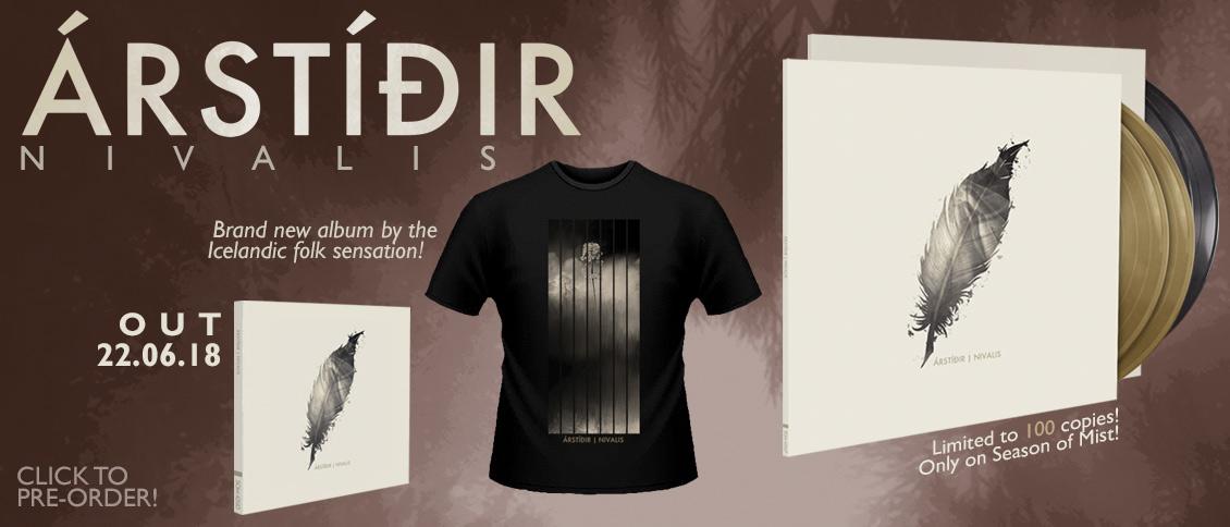 Arstidir Nivalis new album pre-order