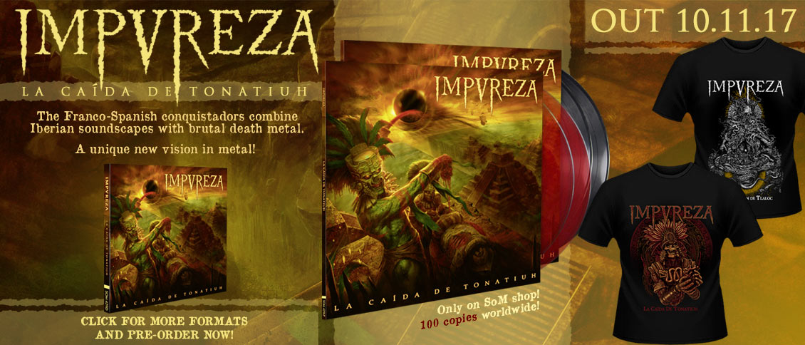 Impureza La Caída de Tonatiuh new album on pre-order