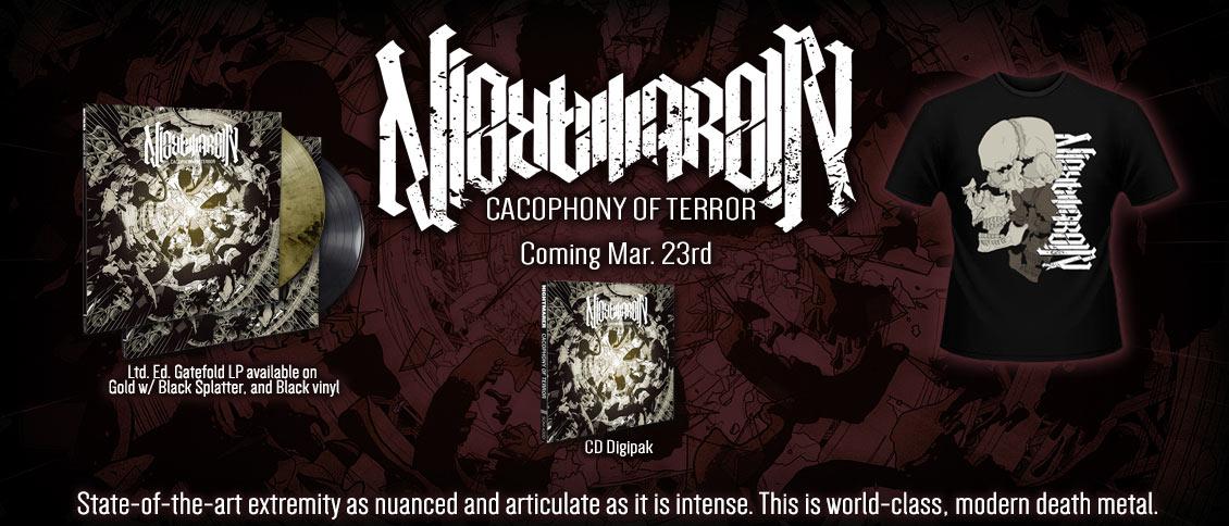 Nightmarer Cacophony of Terror pre-order new album